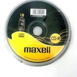 CD-R 700MB MAXELL 52X PACK 50UNI TARRINA