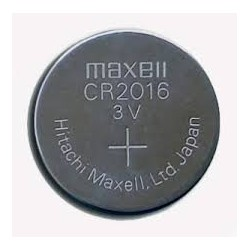 PILA MAXELL CR2016 3V LITHIUM BATTERY 5 UNI.