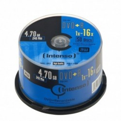 DVD+R 4,7GB, 16x, Cake Box 50