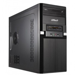 Differo OR1639178 3.3GHz G3260 Mini Tower Negro PC