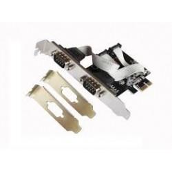 TARJ PCI EXPRESS SERIE+ADAPTADDOR PERFIL BAJO LL-P