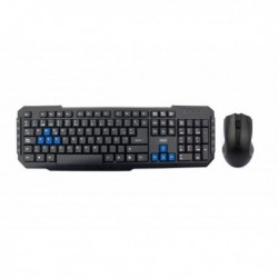 3GO COMBODRILEW USB Negro teclado