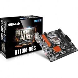 Asrock H110M-DGS Intel H110 LGA1151 Micro ATX