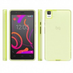 Bq Funda Aquaris E5s Lime Gummy