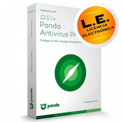 Panda Antivirus Pro - 1 Dispositivos - LICENCIA ELECTRONICA