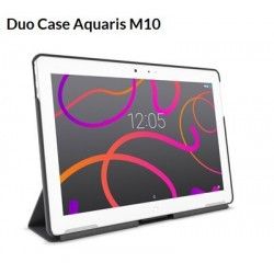 bq Funda Aquaris M10 Grey Rock Duo