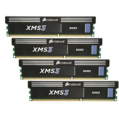 Corsair 16GB (4x4GB) 1600MHz DDR3 16GB DDR3 1600MHz módulo de memoria