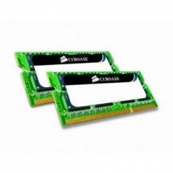 Corsair 8GB DC DDR3 SO-DIMM 1066MHz CL7 8GB DDR3 1066MHz módulo de memoria