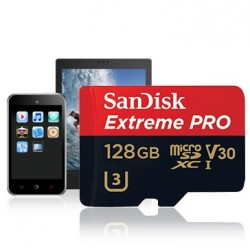 ANDISK Extreme Pro microSDXC 128GB + SD Adapter + Rescue Pro Deluxe