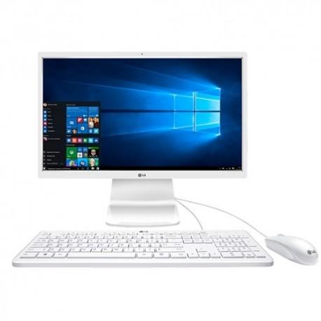 "AIO LG 24V360-L.AR4WB 24"" IPS PENTIUM QUAD CORE 4GB DDR3 500GB W10 BLANCO"