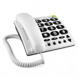 Doro PhoneEasy 311c Analog telephone Color blanco