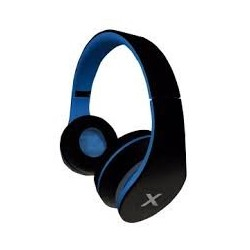 AURICULAR ESTEREO JAZZ BLACK/BLUE APPROX