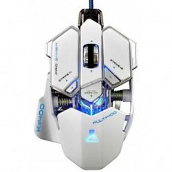 Bluestork KULT400 USB Óptico 3500DPI mano derecha Negro ratón