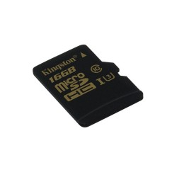 KINGSTON GOLD MICROSD UHS-I SPEED CLASS 3 (U3) 16GB SIN ADAPTADOR