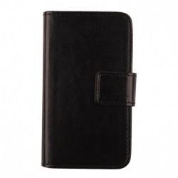 "Doro 6870 5"" Folio Negro funda para teléfono móvil"