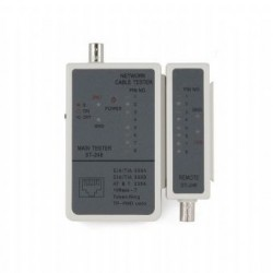 Cable tester para RJ-45 y RG588
