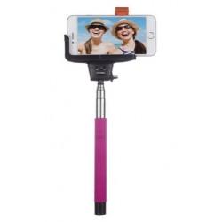 Bastón Extensible Selfie BT Inntegrado Premium Ros