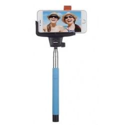Bastón Extensible Selfie BT Inntegrado Premium Azu